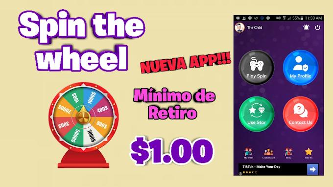 ▷ APP Spin the Wheel ∗【 Gana Dinero Paypal Jugando 】Retiro Mínimo $1 Dólar ∗ 2021