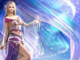 The Elf Goddess Of Galaxy