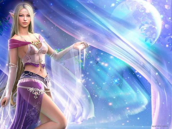 The Elf Goddess Of Galaxy, Fairies 3