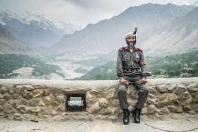 Baltit Fort guard, Mr. Salahuddin