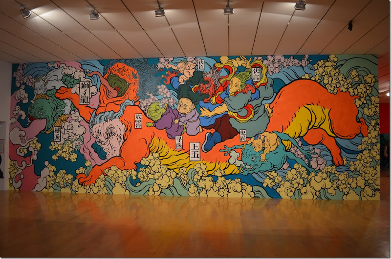 Wall Drawings MAC Lyon 2016