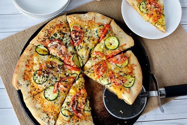 Garden-Veggie-Pizza