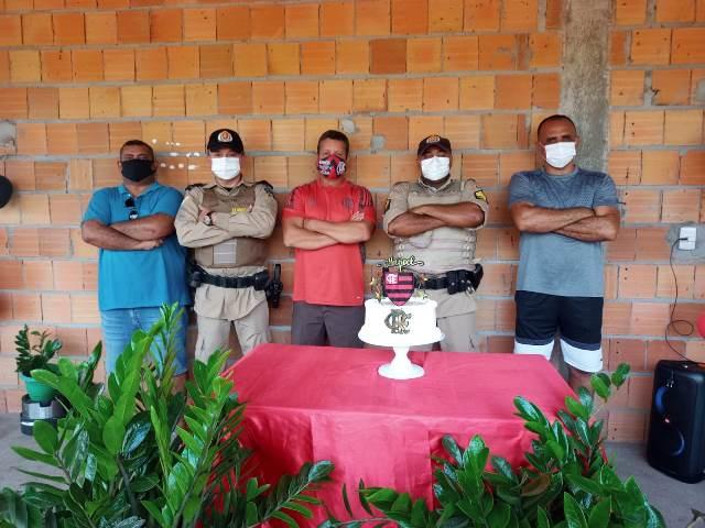9° Batalhão da PM realiza visita a militar da reserva em Axixá