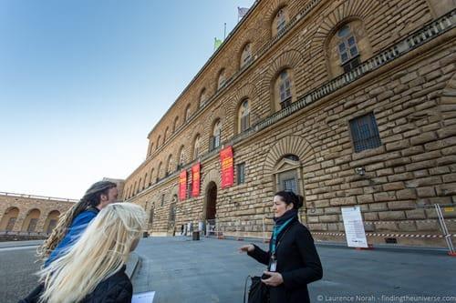 Palazzo pitti Florence Context Tour
