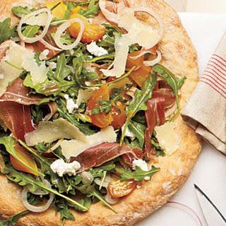 Beet Salad Pizza