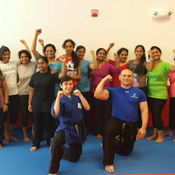 20140517 Womens Club - Conditioning & Self Defense class