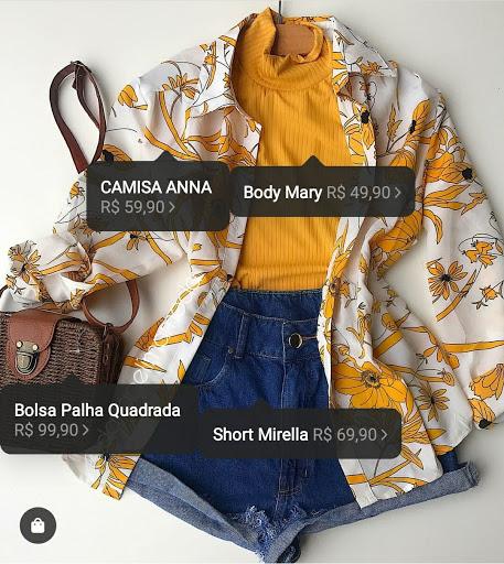 Loja de produtos Instagram