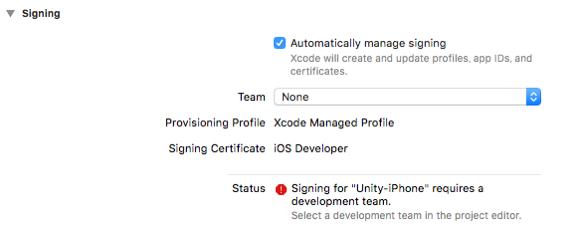 xcode signing