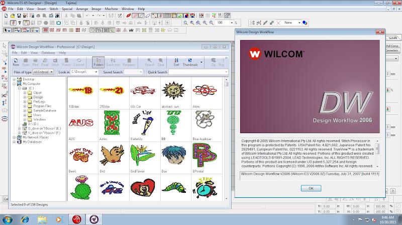 Miễn Phí Phần Mềm Thêu Vi Tính Wilcom Embroidery 2006 SP4 Versions 10 4