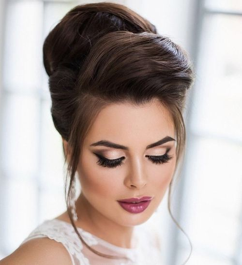 Top Smart Wedding Hair Updos In Current Year For Brides 2017-2018 3