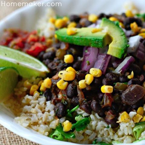 Pass-It-Along Black Bean Burritos Rezept | Yummly