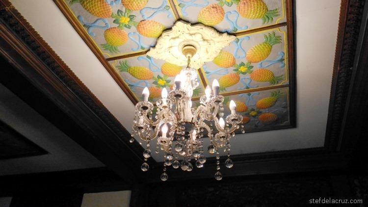 Spanish-era ceiling art