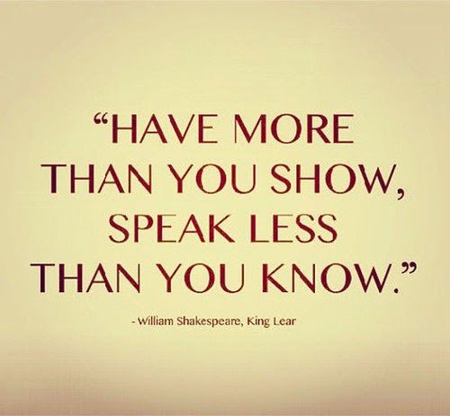 Shakespeare quotes and meanings