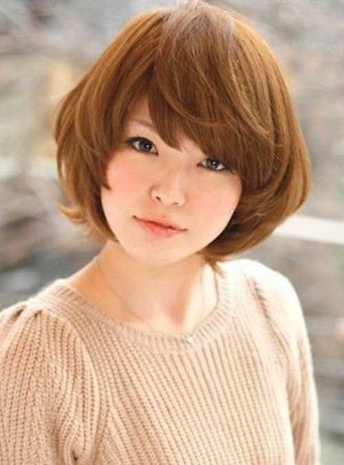 20 Latest Korean Hairstyles For Round Faces Nails C