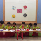 Hexagon Day Celebration by Nursery Evening Section at Witty World, Chikoowadi (2018 - 19)