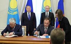 Signing-Documents-Vladimir-Putin-Nursultan-Nazarbayev