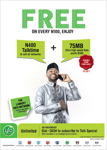 Talk More For less with Glo Talk Time 1