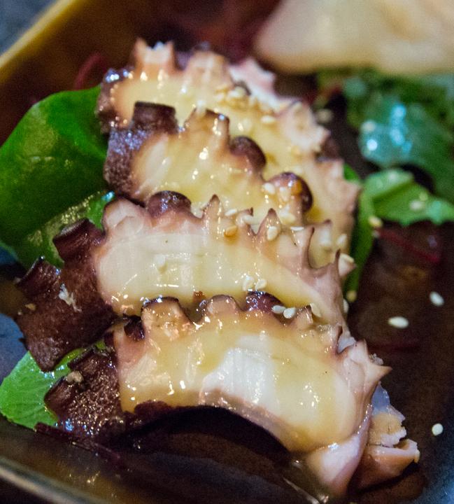 photo of Octopus su miso sashimi