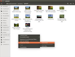 Copiar y pegar imágenes al portapapeles en Ubuntu con nautilus-copypaste-images - pegar