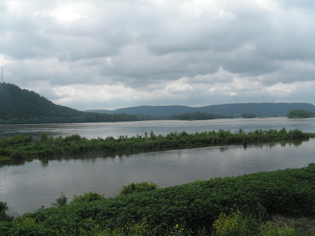 The Susquehanna River at Liverpool