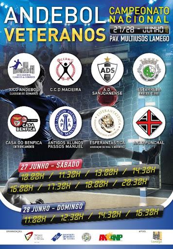 Campeonato Nacional Veteranos Masculinos realiza-se em Lamego, nos dias 27 e 28 de Junho