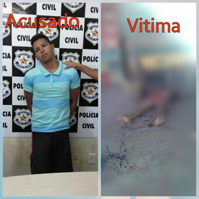 Polícia civil prende assassino de idoso morto a facadas no bairro uruará, em Santarém