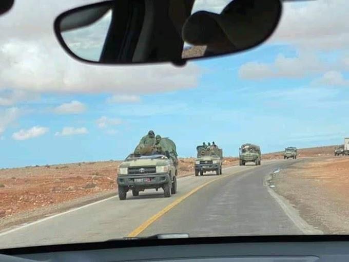 Marruecos envía tropas a la frontera sur del Sáhara Occidental.