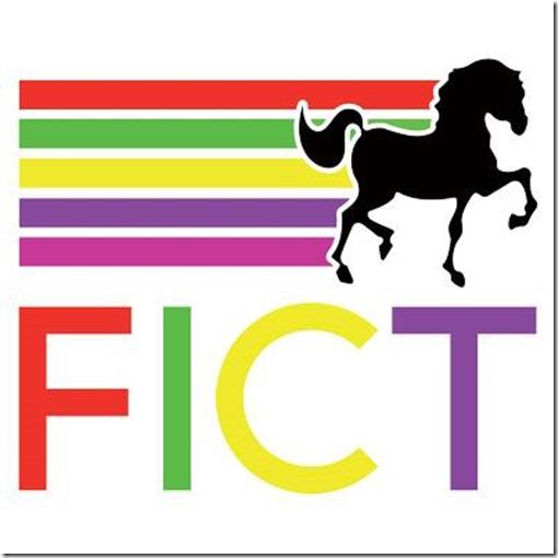 Feria de Texcoco Logotipo con silueta de un caballo