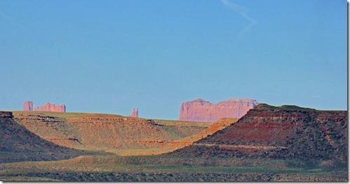 Monument Valley from Goosenecks State Park, San Juan River