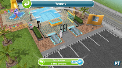 Sims FreePlay It's All Going Swimmingly - Ask Wumples for advice