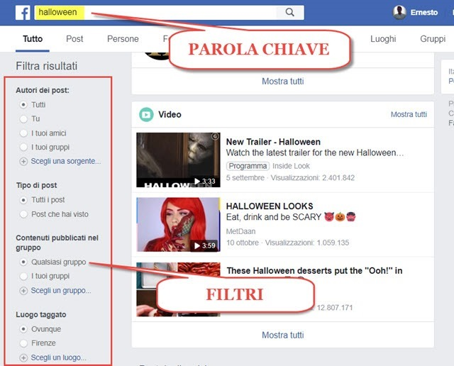 ricerche-facebook