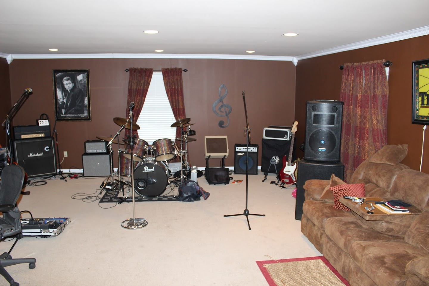 Rehearsal Studio How To Arrange Amps Harmony Central