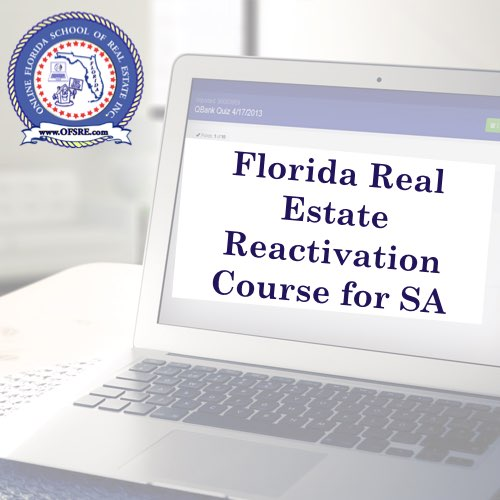 fl reactivation course for real estate