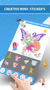 Coloring Book for Winx - Winx Coloring Game - náhled