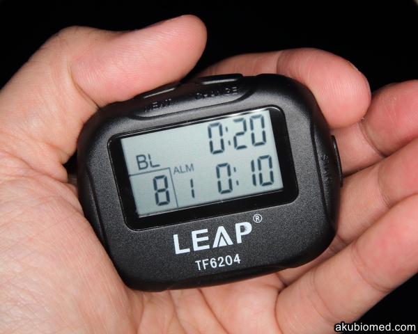 Leap interval timer