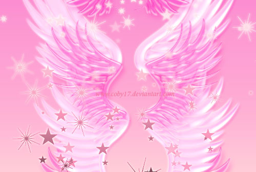 fantasy angel wings photoshop brushes