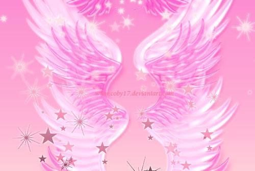 fantasy angel wings photoshop brushes