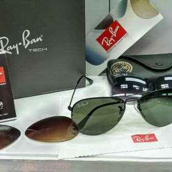 gafas de sol ray ban flip out aviator intercambiables