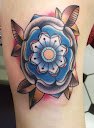 Tudor rose tattoo Designs 2