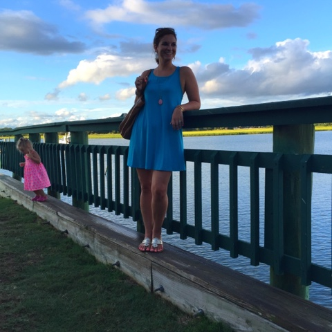 swing dress, jack rogers, kendra scott, vacation style