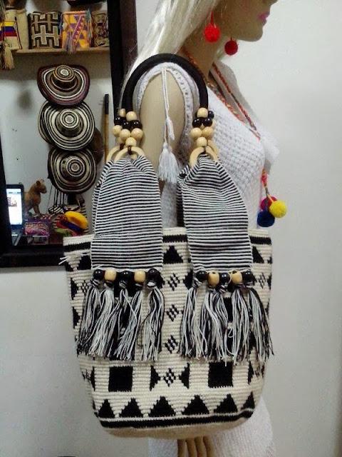 Bolso Wayuu con Cremallera Ref. 3