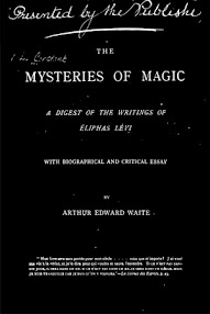 Cover of Eliphas Levi's Book The Mysteries Of Magic