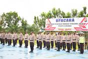 Kado Istimewa HUT Bhayangkara, 20 Personel Polres Sekadau Naik Pangkat