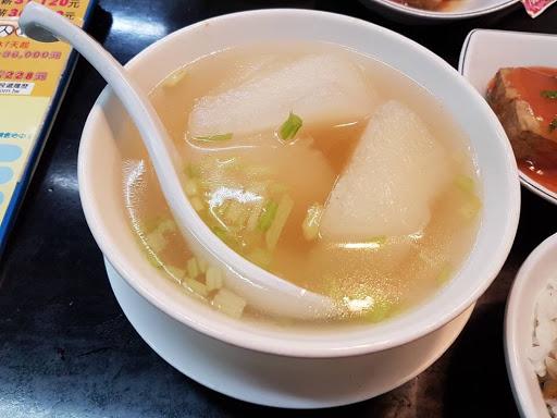 Radish soup from Formosa Chang at Taipei