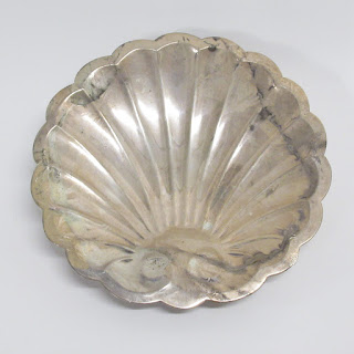 Sterling Silver Shell Bowl