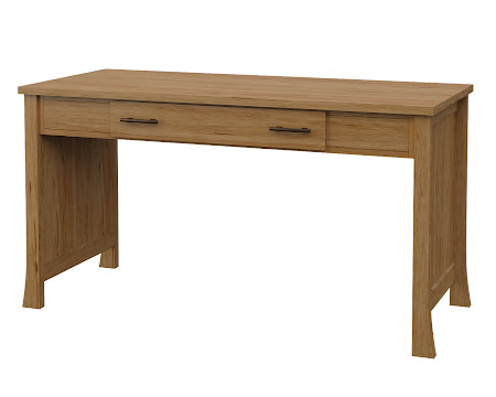 Palermo Writing Desk in Calhoun Maple
