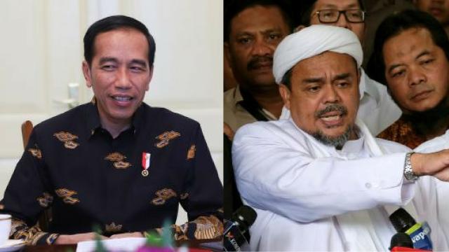 Mampu Gerakkan Jutaan Orang Tanpa Dibayar, Penyebab HRS Ditakuti Istana & Dipenjara