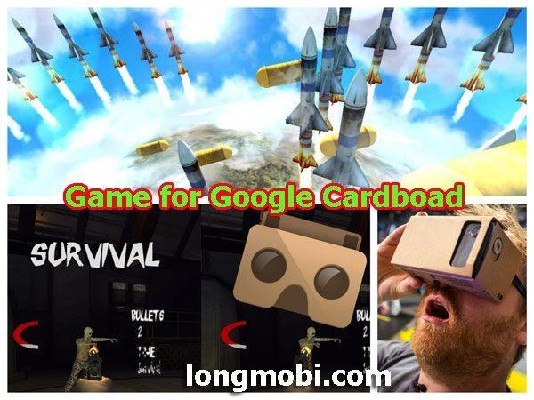 game cho kính thực tế ảo googlecardboad