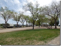 Mountain View RV Park, Monticello Utah