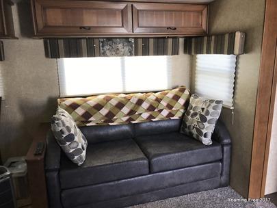 Living Room - new valances